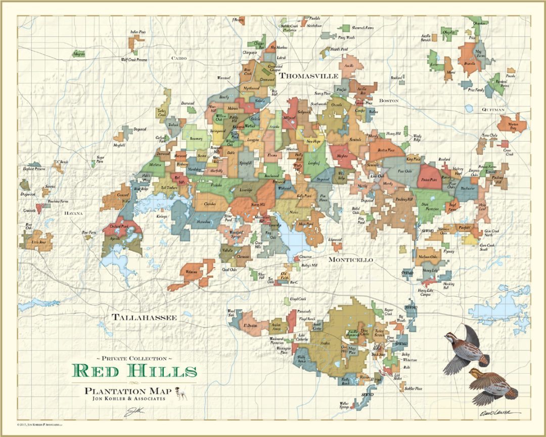 Red Hills Map