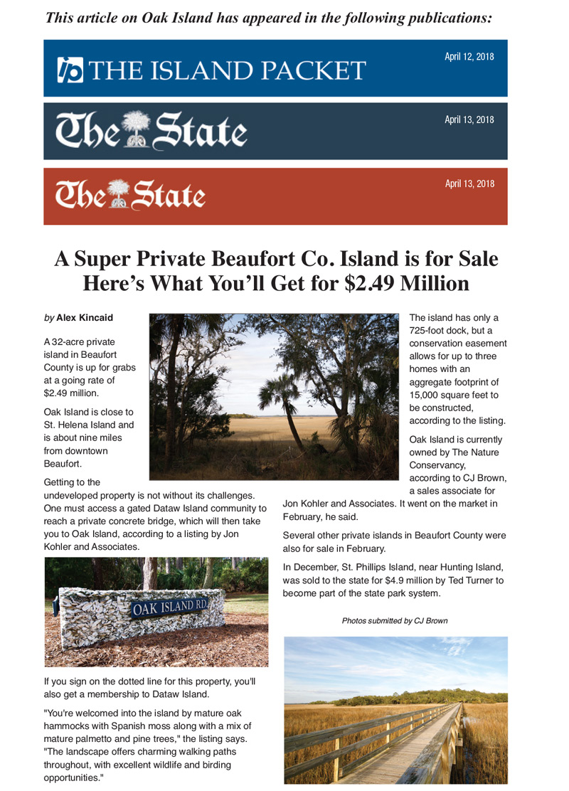 The Island Packet Post