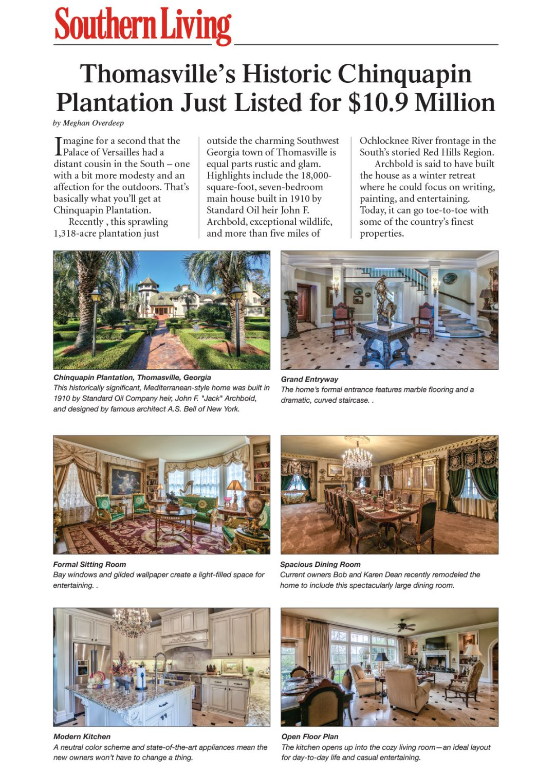 Southern Living Post