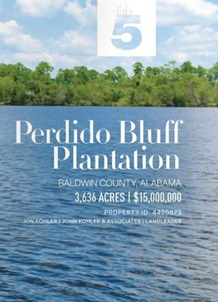 Perdido Bluff Plantation Post