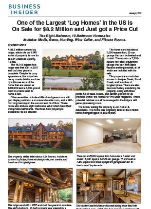 Timber Creek Business Insider