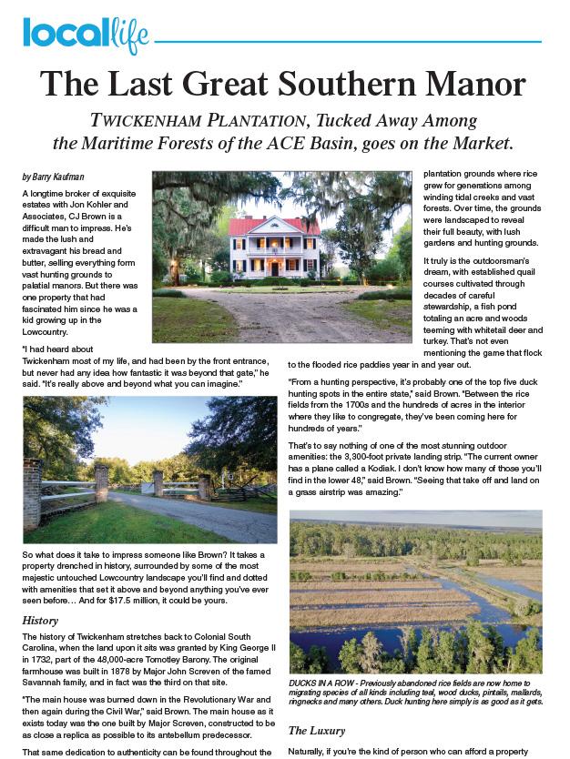 Local Life Twickenham Plantation