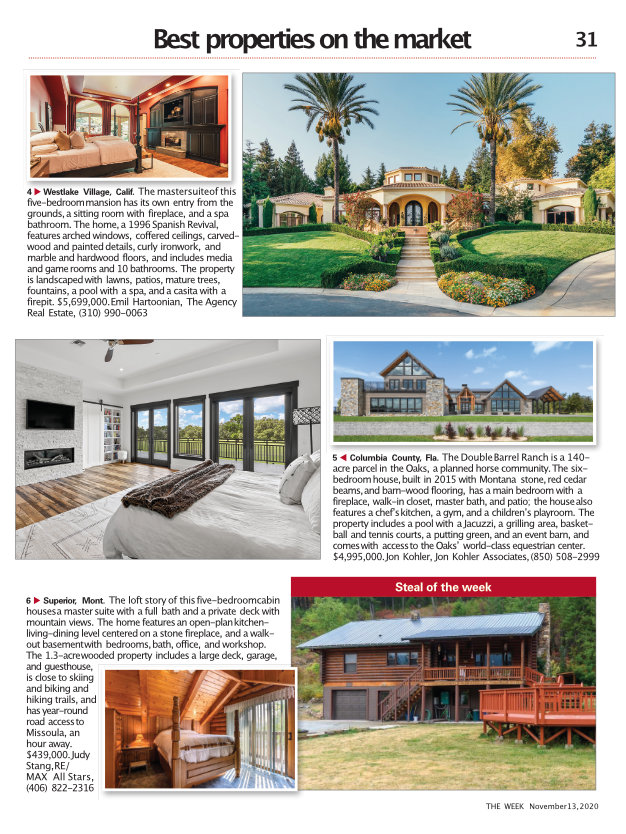 The Week Magazine Double Barrel Ranch